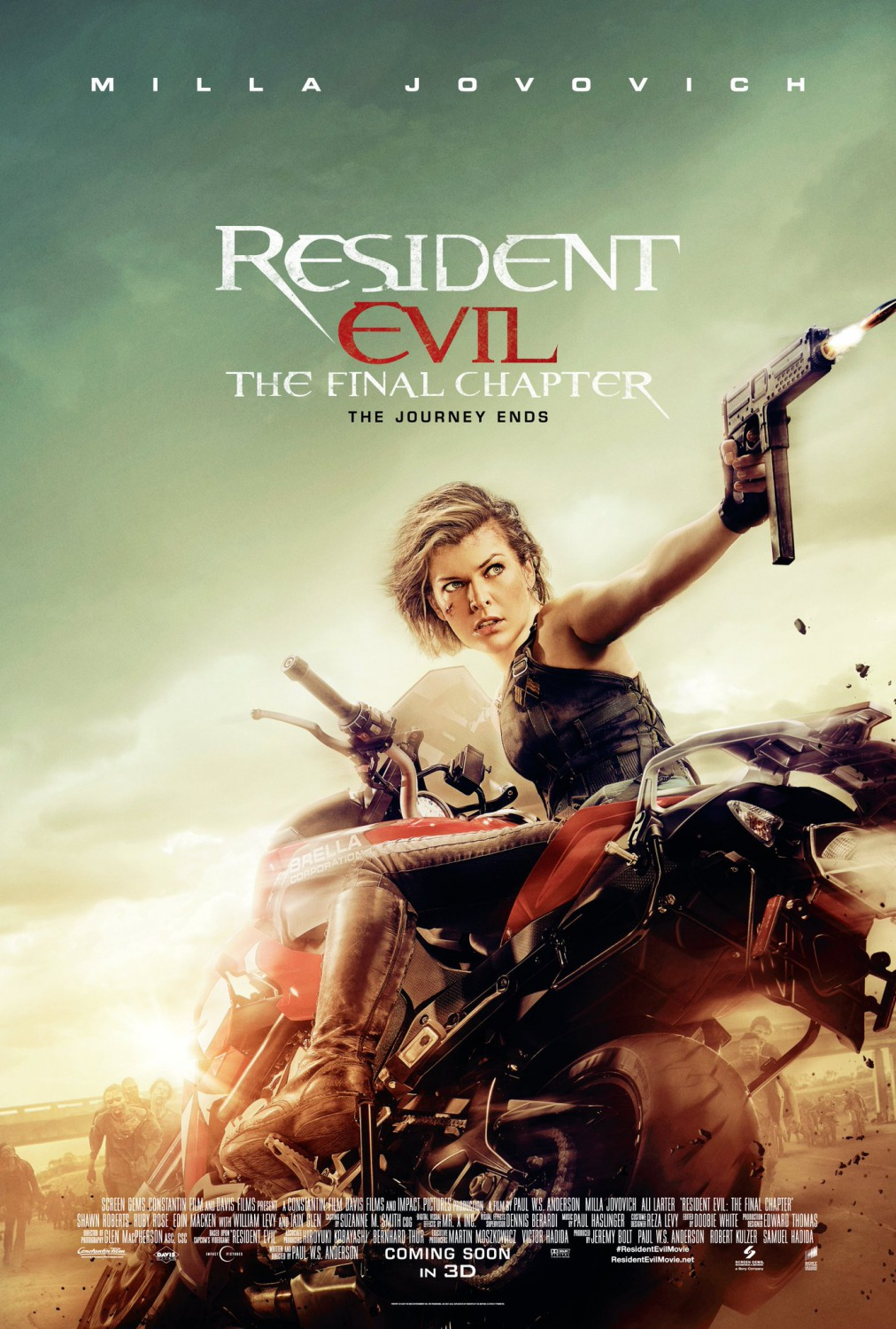 JUEVES 27 DE ABRIL, 18:00 HRS. RESIDENT EVIL: CAPÍTULO FINAL
